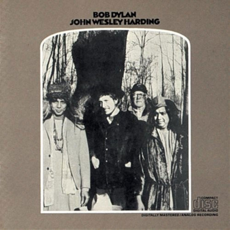 Bob Dylan en Formentera. Portada de John Wesley Harding. Tu Gran Viaje