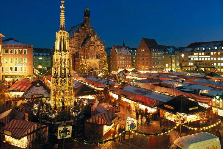 Mercadillo de Navidad de Nuremberg. La Navideña Feria Internacional de las Culturas