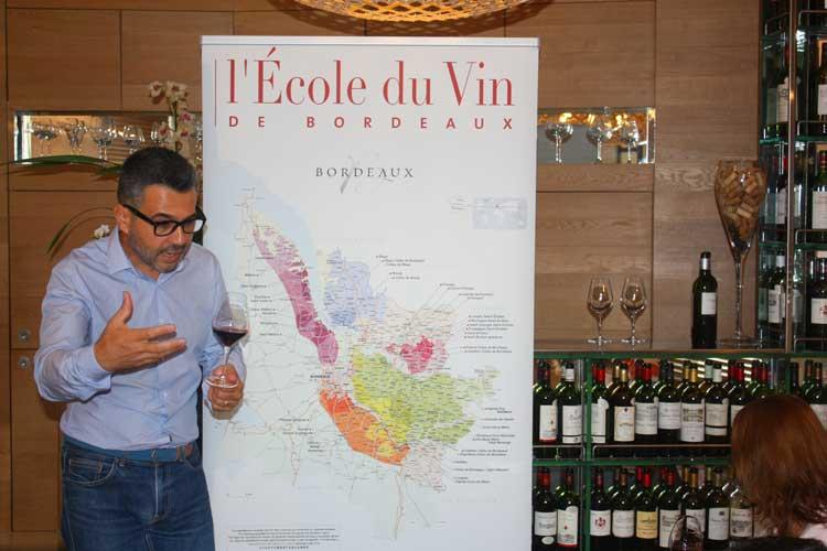 L'Ecole du Vin de Bourdeaux. Foto © Tu Gran Viaje