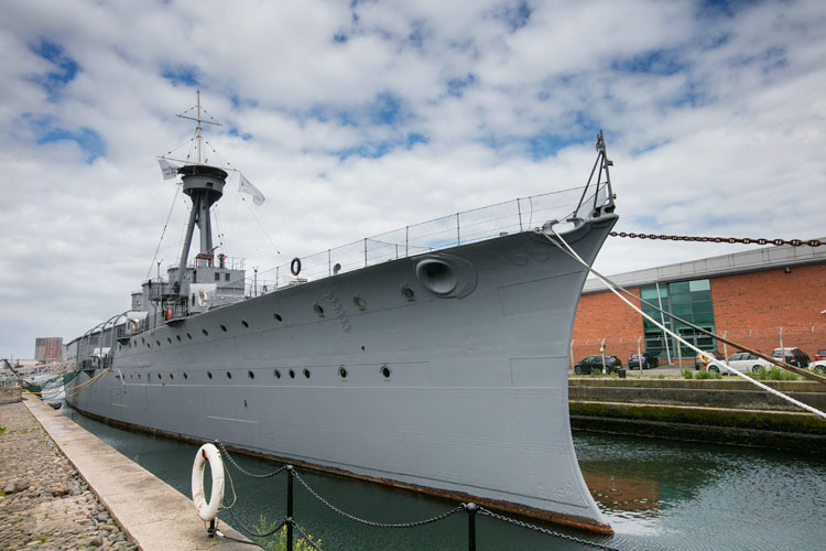 HMS Caroline. Irlanda 2017 en Tu Gran Viaje