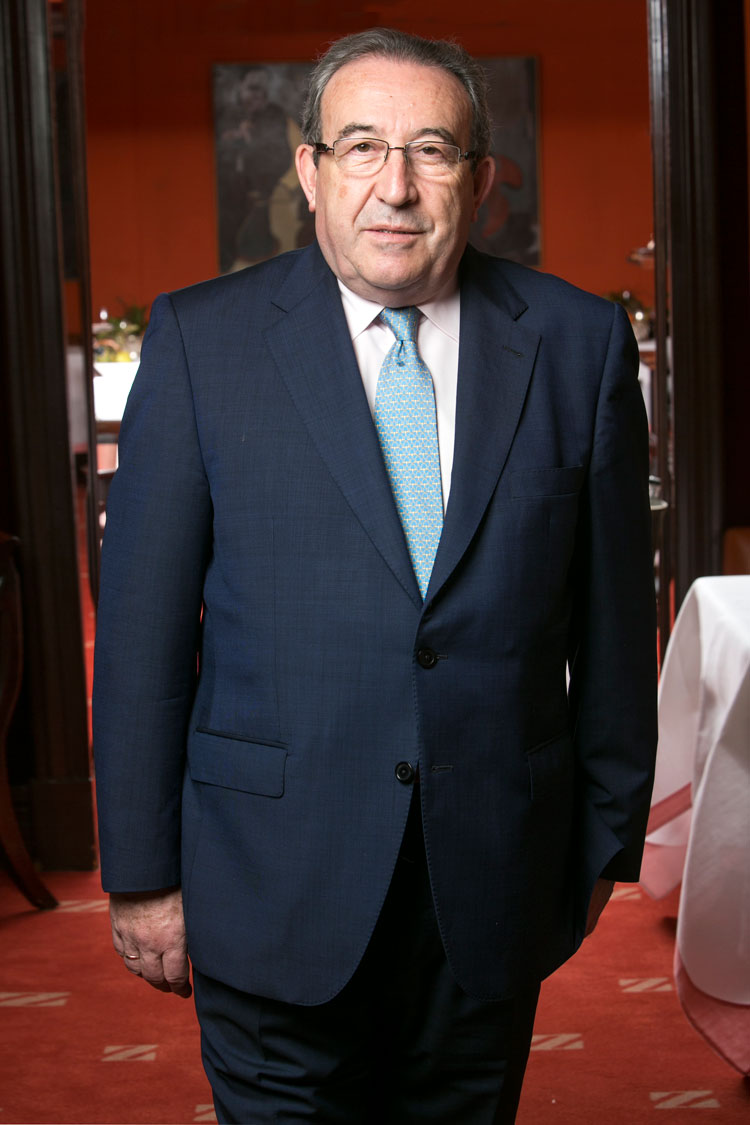 Carmelo Perez mejor maitre premios Club Gourmet