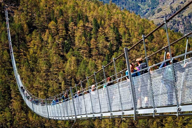 EuropaBruecke, el puente peatonal colgante más largo del mundo | Tu Gran Viaje
