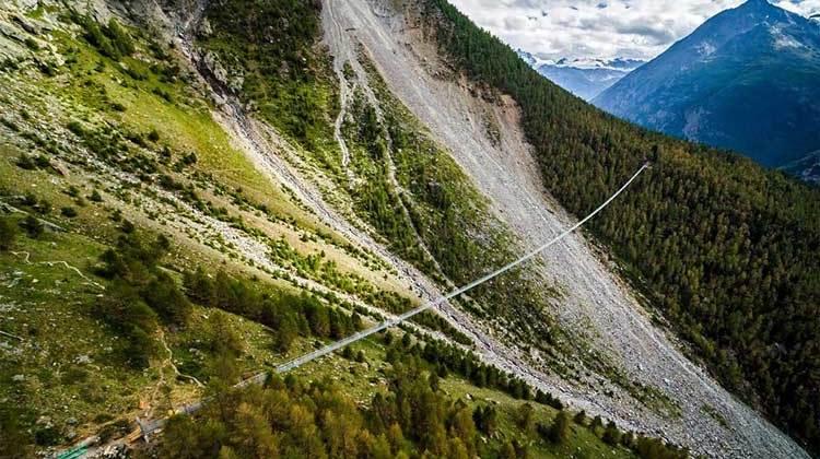 EuropaBruecke, el puente peatonal colgante más largo del mundo