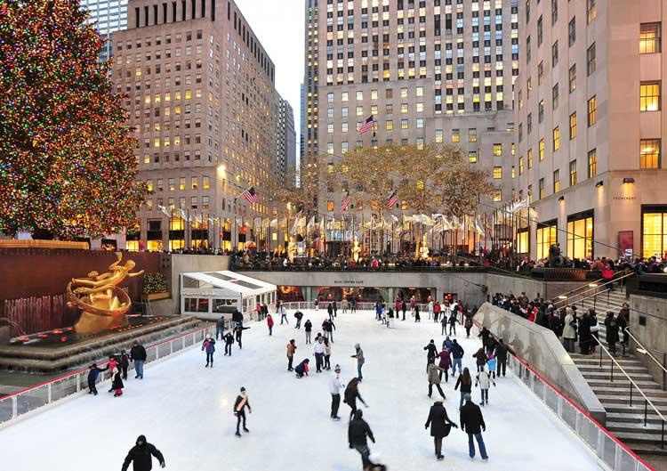 patinar sobre hielo en el Rockefeller Center | Tu Gran Viaje