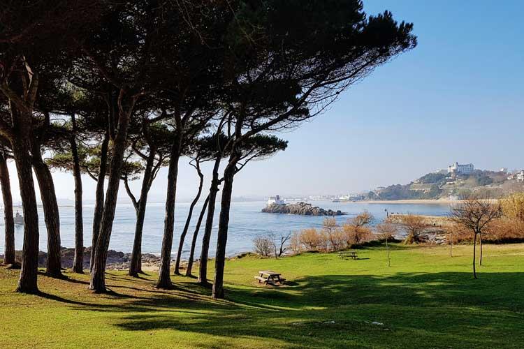 Panorámica de la playa del Sardinero, Santander. © Tu Gran Viaje | Viajar a Cantabria en Invierno