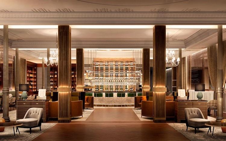Hall del Gran Hotel Inglés de Madrid | Tu Gran Viaje