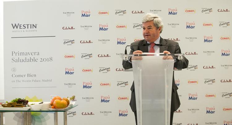 Fernando Burgaz, Director General de la Industria Alimentaria del Ministerio de Agricultura y Pesca, Alimentación y Medioambiente