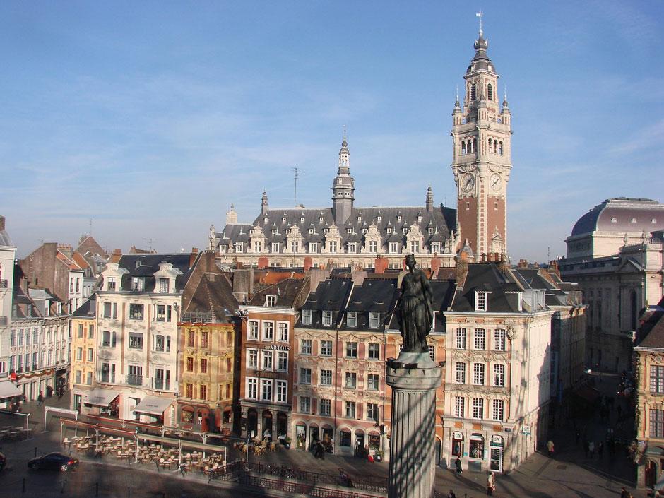 Plaza de la Bolsa de Lille | Viajar a Lille | Tu Gran Viaje