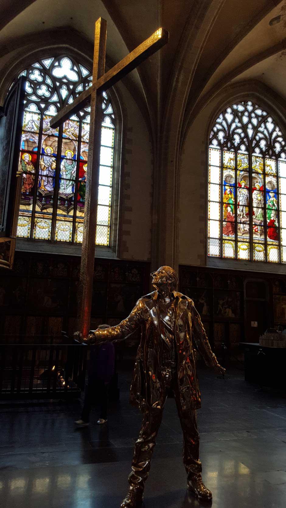 Jan Fabre | Catedral de Nuestra Señora. Amberes Barroco © Tu Gran Viaje | Maestros Flamencos