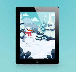 Winter - Game Background