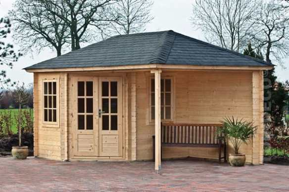 Log Cabins from Tuin