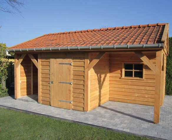 Bespoke building using our larch or douglas timber cladding