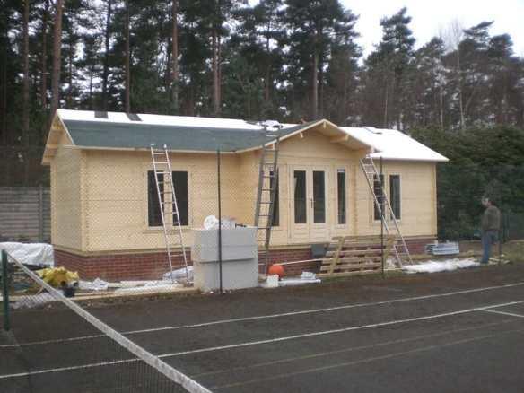 Insulated Log Cabin
