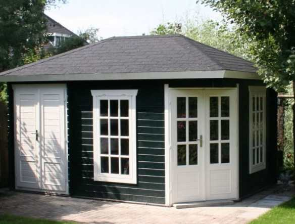 Catalogue Sigrid Log Cabin can be installed left or right handed