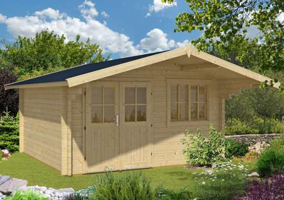 The New Rorik Garden Office Log Cabin in 58mm logs