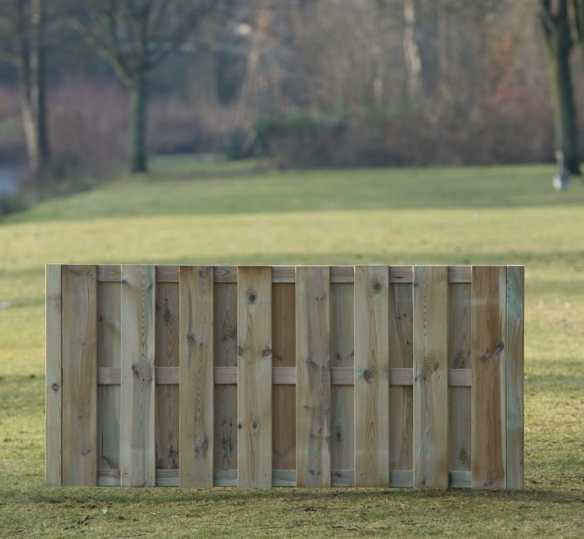 Short fence panels match the full size ones, great for end of runs or features.