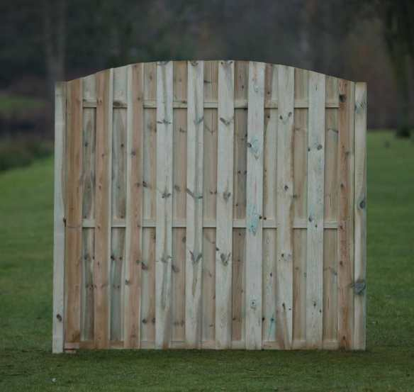 European fence panel. The Aalsmeer is one of our best selling fence panels.