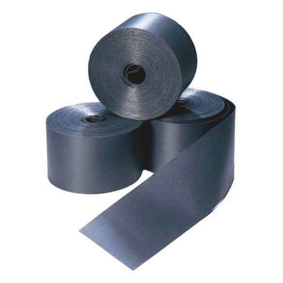 Use this between the foundation beam and the concrete base. This will also compress and with the foundation will help to seal the cabin at the base.