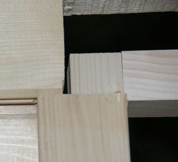 Expansion - Contraction gap above and to the side of the windows and door frames