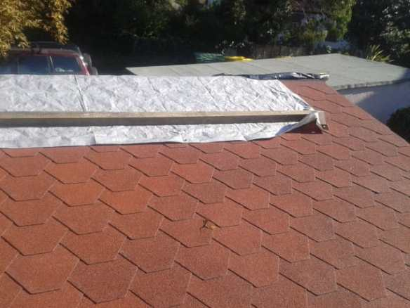 Do not overlap your shingles too much, you will run out and distort the design intent