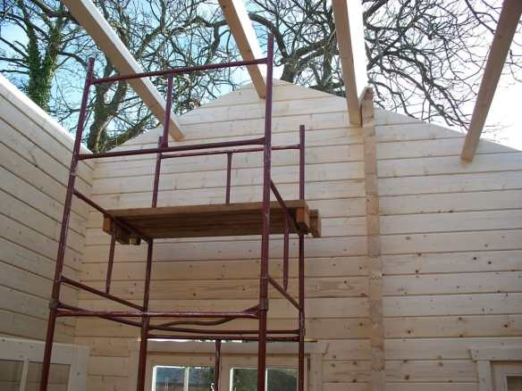The roof needs to be designed correctly for the loads placed upon it. This will be reflected in the ridge height, strength and number of purlins and thickness of the roof boards.