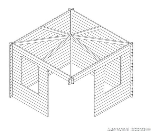 Asmund Log Cabin Plans