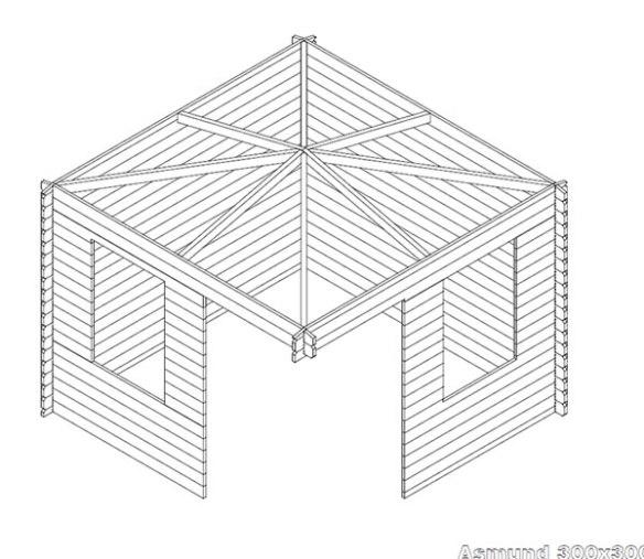 Asmund Log Cabin Plans