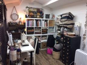 Justine Sewing Room