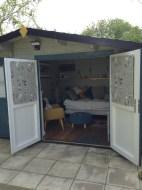 Lukas Log Cabin Double Doors