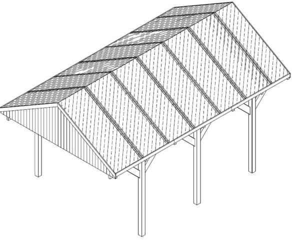 Carport instructions - click for an example