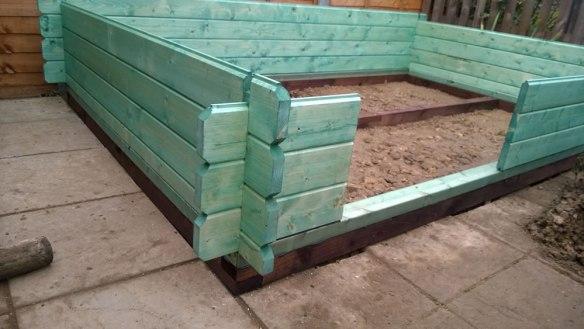 Sten log cabin build