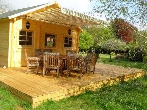 Edelweiss Log Cabin in 70mm Logs