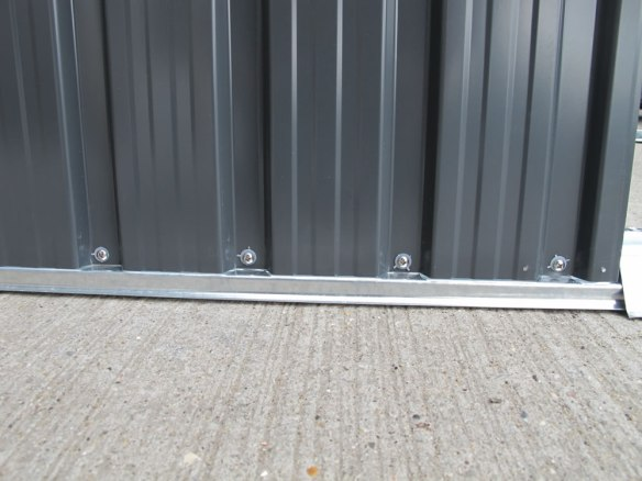 Stainless steel screws and plastic washers to ensure a good seal without the need to silicon each fitting