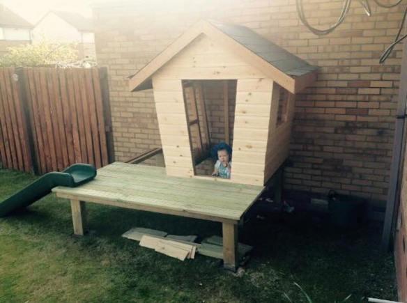 Mini Cabin Idea