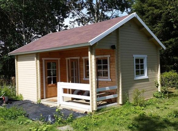 Edelweiss log cabin in 70mm.