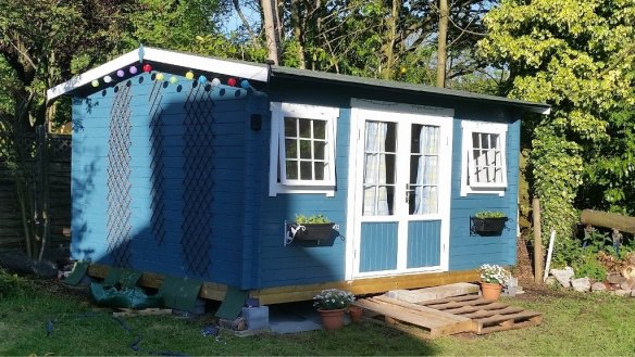 Jenny Log Cabin
