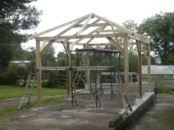 Superior gazebo roof