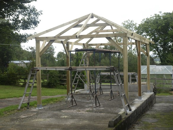 Superior gazebo roof