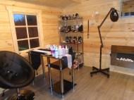 Dyre Log Cabin Salon