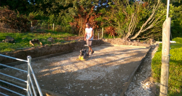 Leveled Out Shuttering