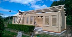 Roof Installation Progress