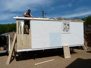 Shepherd Roof Installation