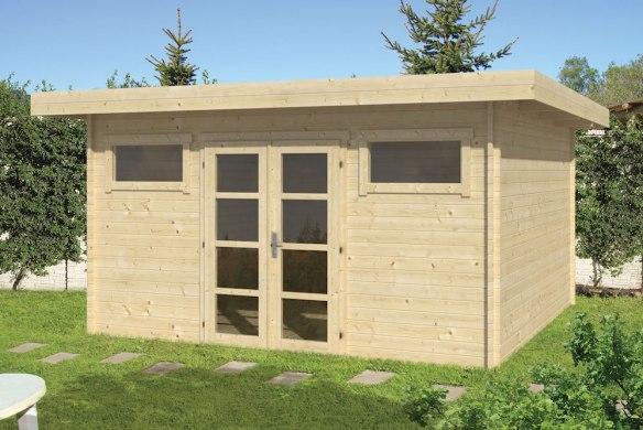 The Supermodern Log Cabin