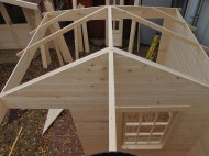 Top View Of The Purlins