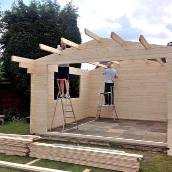 Derby Roof Purlin Installation