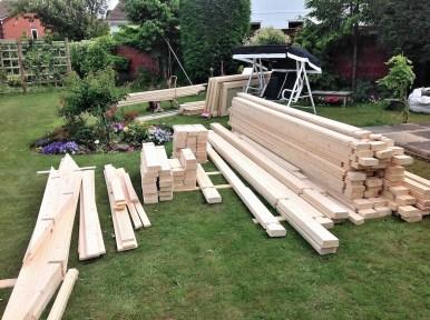 Derby Log Cabin Logs Organised