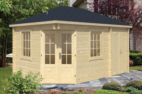 The Agnes Log Cabin With Shed Annexe