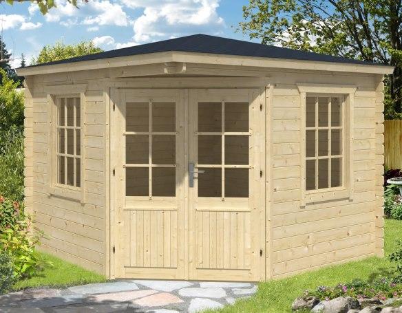 Asmund Corner Log Cabin