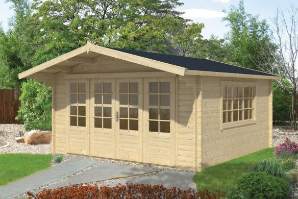 The Derby Log Cabin