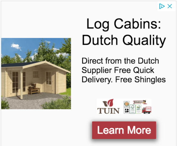 Tuin Display Advertisement Example